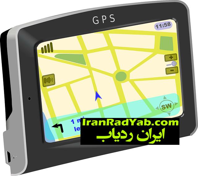جی پی اس رهیاب و مسیریاب خودرویی (گویا دارای LCD)